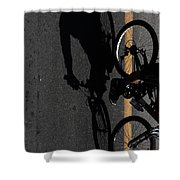Wednesdays Climb  Shower Curtain