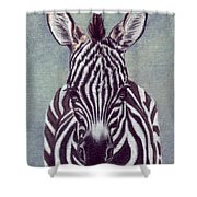 Wee Zeeb Shower Curtain