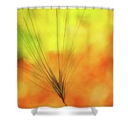 Weed Glow Shower Curtain