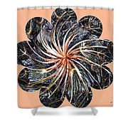 Weed Whirl Shower Curtain