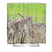 Weeds 008 Shower Curtain
