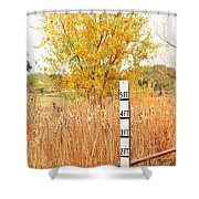 Weeds 035 Shower Curtain