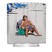 Weekend At Bernies Shower Curtain