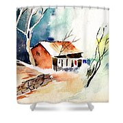Weekend House Shower Curtain