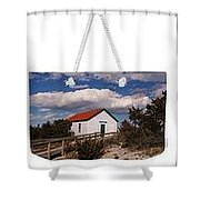 Weekender Tote-cloud Covered Light Station Shower Curtain