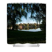 Weeping Willows Shower Curtain