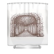 Weingut Burklin Wolf Wachenheim Rheinfalz Germany Shower Curtain