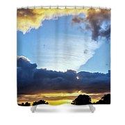 Weird Weather Front Shower Curtain