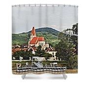 Weissenkirchen  Austria Dan096 Shower Curtain