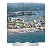 Welcome Aboard Surf City Topsail Island Shower Curtain