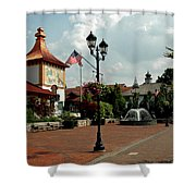 Welcome Center At Frankenmuth Shower Curtain