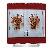 Welcome Doors Shower Curtain