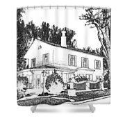 Welcome Home 6 Shower Curtain