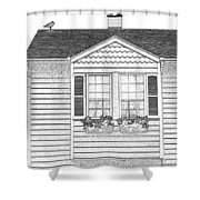 Welcome Home 7 Shower Curtain