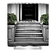 Welcome Steps Shower Curtain