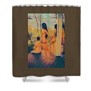 Welcome The Dusk Shower Curtain
