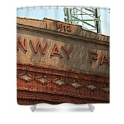 Welcome To Fenway Park Shower Curtain