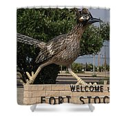 Welcome To Fort Stockton Shower Curtain