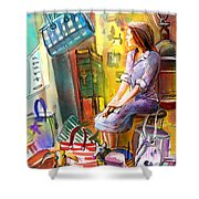 Welcome To Italy 05 Shower Curtain