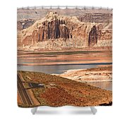 Welcome To Lake Powell Shower Curtain
