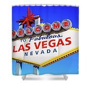 Welcome To Las Vegas Sign Only Boulder Highway Day Shower Curtain