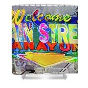 Welcome To Main Street Manayunk - Philadelphia Shower Curtain