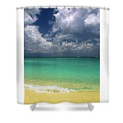 Welcome To Paradise Shower Curtain