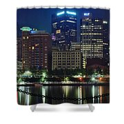 Welcome To Pittsburgh Shower Curtain