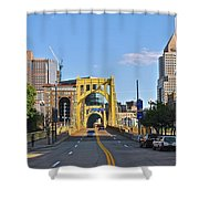 Welcome To Pittsburgh Pa Shower Curtain