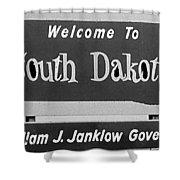 Welcome To South Dakota  Shower Curtain