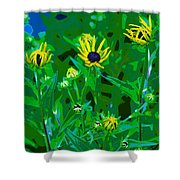 Welcome To The Garden Shower Curtain