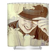 Welcome To The Show Shower Curtain
