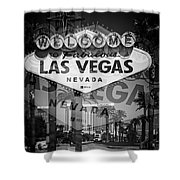 Welcome To Vegas Xiv Shower Curtain