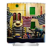 Welcome To Venice Shower Curtain