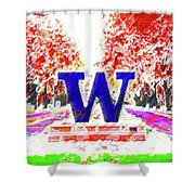 Welcome To Washington Shower Curtain