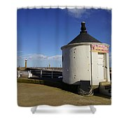 Welcome To Whitby Shower Curtain