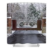 Welcome To Winter Shower Curtain