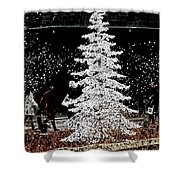 Welcome Winter Shower Curtain