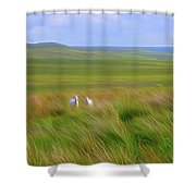 Welcoming Committee-dm Shower Curtain