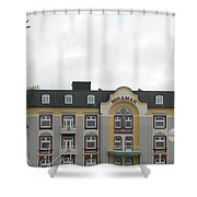 Welcoming Lovely Wind Shower Curtain