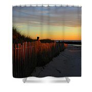 Welcoming The Day Shower Curtain