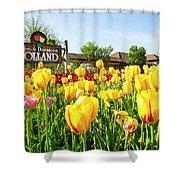 Welkom To Holland Shower Curtain
