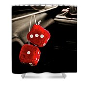 Well Equipped Street Rod Shower Curtain