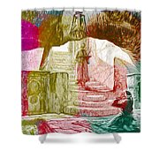 Well Of Souls Shower Curtain