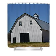 Well Preserved Barn Shower Curtain