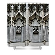 Wellesley College Tower Court Detail Shower Curtain