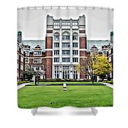 Wellesley College Tower Court Shower Curtain