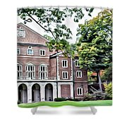 Wellesley College Walsh Alumni Hall Shower Curtain