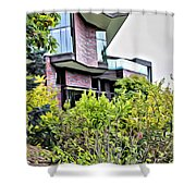 Wellesley College Wang Campus Center Shower Curtain