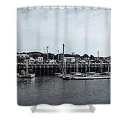 Wellfleet Harbor Shower Curtain